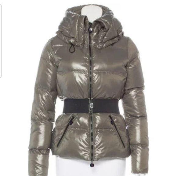 Moncler Aliso Taupe Puffer Down Jacket 1 XS